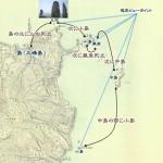 成宗三峰島の検証